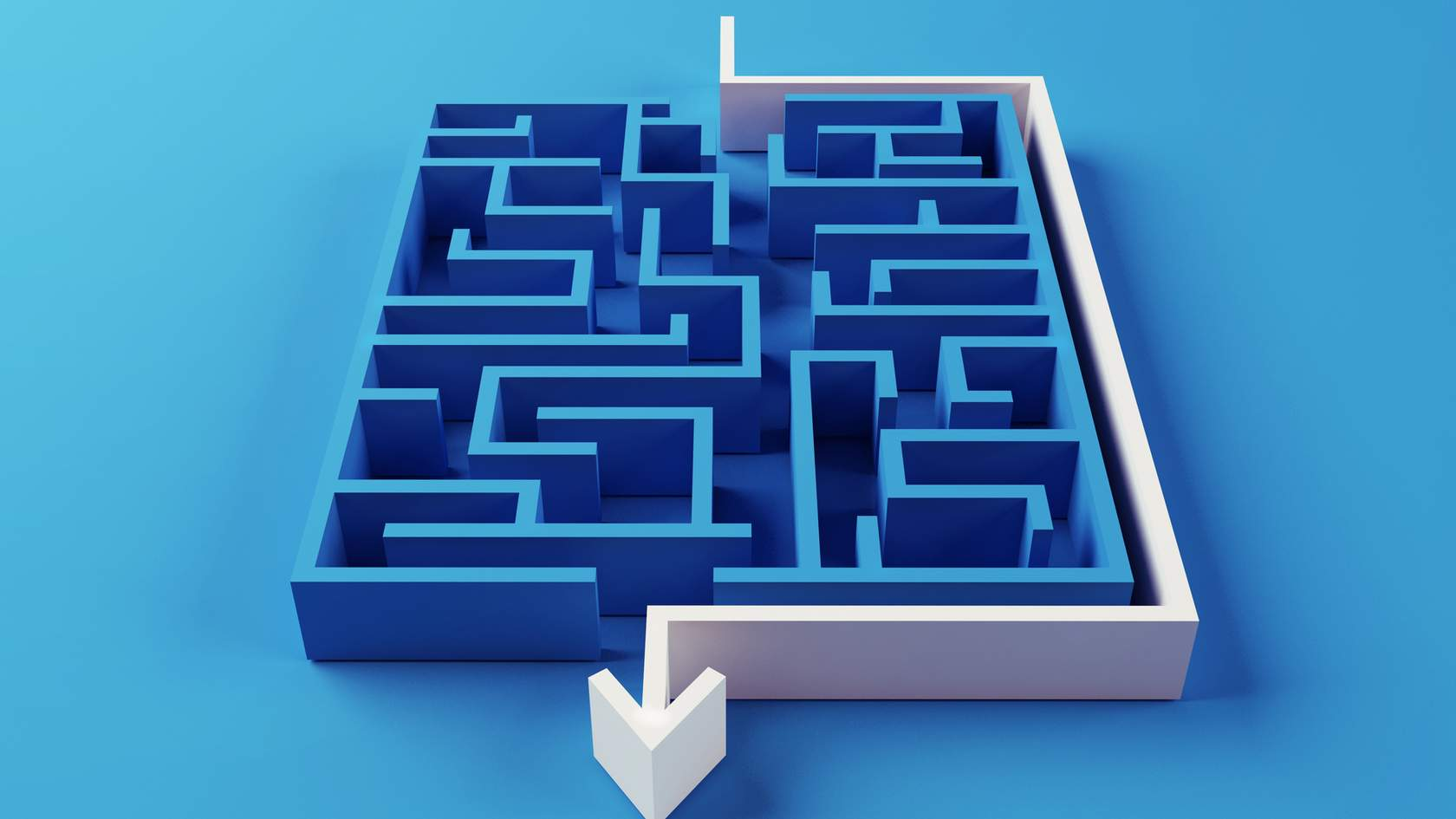A maze and direction